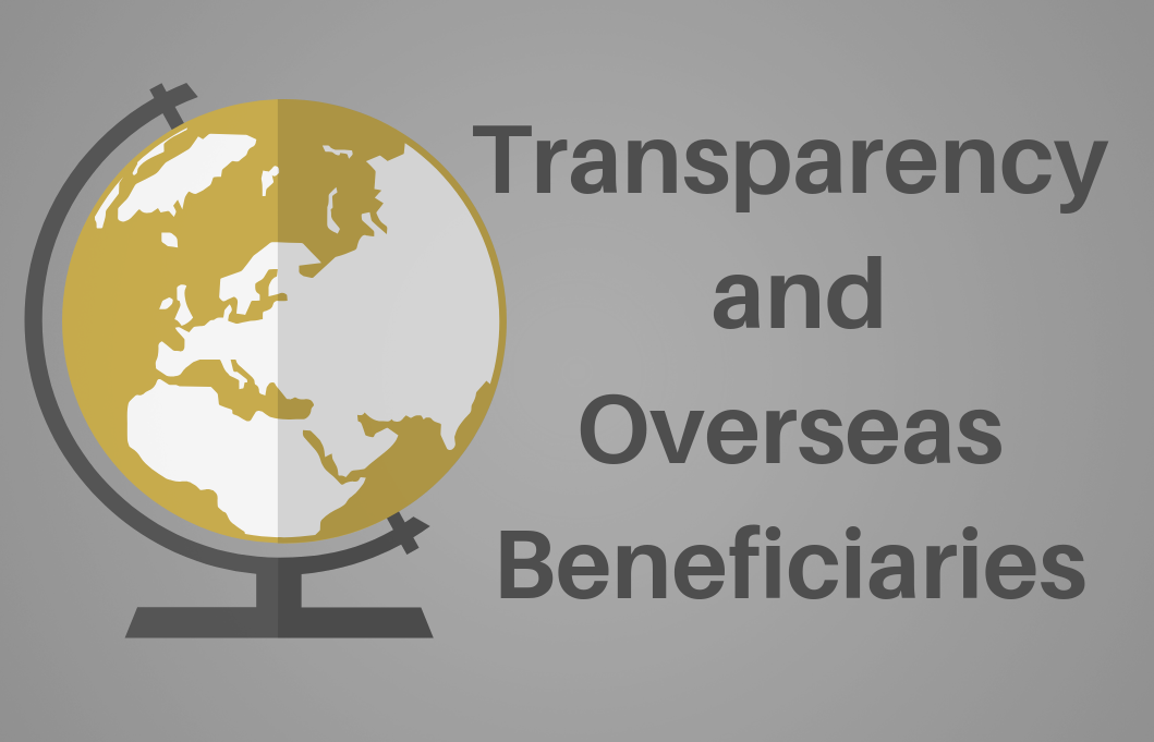 Overseas beneficiary