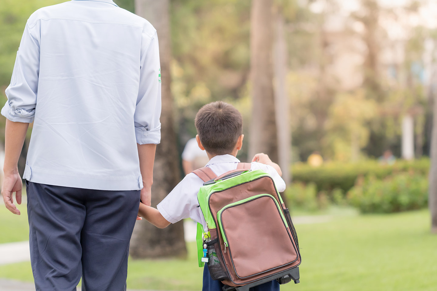 Back to school co-parenting