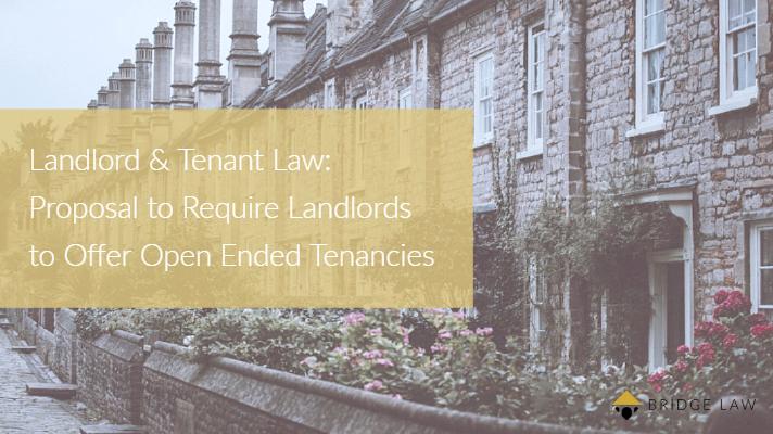 Bridge Law Blog| Landlord and Tenant Law