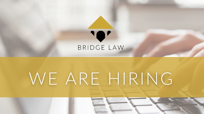 Bridge Law are hiring