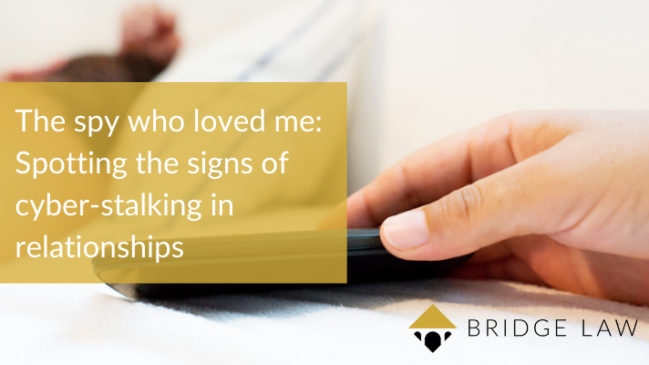 The spy who loved me spotting the signs of cyber-stalking in relationships bridge law blog header